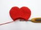 Сердечко крючком - вязание по мастер-классу, схема вязания