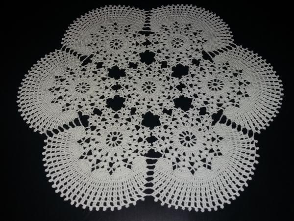 Завораживающая Салфетка-снежинка